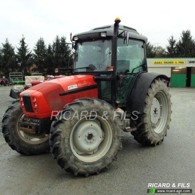 Tracteur agricole same explorer3 100 vendre sur ricard - Siege de tracteur agricole ...